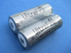 UltraFire LC18500 Protected Li-ion Rechargeable Battery 2-Pack