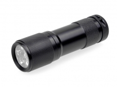UV LED 365-370nm 9 LED Flashlight Torch