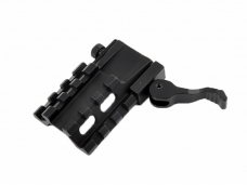 D0037D Aluminum Alloy Tri-sides Extend Picatinny Rails With 21mm Rail Weaver for Scope Mount Brackets
