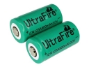 Ultrafire ICR123A 3.0V rechargeable Li-ion Battery 2-Pack