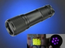 7LED 365-370nm UV Purple Light flashlight