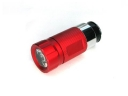 mini 1led car Charger Rechargeable flashlight