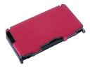Protective Aluminum Case for Nintendo 3DS-Red