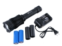 PALIGHT BG-SST50 LED Aluminum Flash Torch Kit with 26650 Battery