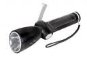 ZY-284D Crank Dynamo & Solar Flashlight with  Mobilephone Charger