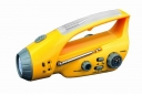 ZY-288D Crank Dynamo Flashlight with Mobilephone Charger and AM&FM Radio