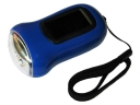 3 LED Solar Hand Crank Flashlight