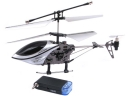 I-Helicopter Gyro 777-170 Controlled by iPhone/iPod touch/iPad (Silver)