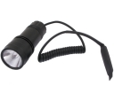 3V Aluminum Tactical Flashlight With Remote Pressure Switch (LT-D04)