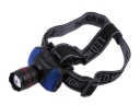 1W LED White Light 3 Modes Zoom Headlamp with Blue Light