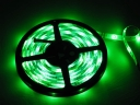 5M Drivepipe Waterproof 60LED 5050 SMD Flexible Light Strip-Green Light