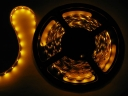 5M 5050 SMD Flexible LED Non-waterproof Strip Light 60 Leds-Yellow  Light