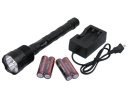 TrustFire TR-3T6 3800 Lum 3x CREE XM-L T6 LED Flashlight Set