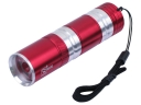 Smiling Shark SS-602 Mini LED Flashlight-Red
