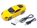 Car Shape Music Speaker Micro SD Card Reader Radio FM MP3