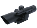 Accurate LT-2.5-10*40E Riflescope with Green Laser