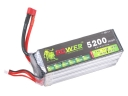 Lion Li-PO 22.2V 5200mAh 30C High Capacity Lithium Polymer Battery