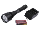 TrustFire TR-800Y 3x CREE LED aluminum Flashlight Set