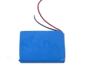 3.7V 250mAh Lithium Polymer Battery For Bluetooth /MP3/4/5- Blue