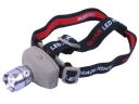 ZY-5508 OSRAM LED 3-Mode High Power Zoom Headlamp - Gray