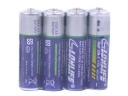 4 Pcs AA R6P UM3 1.5V Disposable Batteries