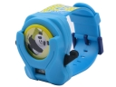 PD2009 Panda UFO Electronic Watch with 3 Covers- Blue