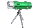 Advanced Multi-function Rechargeable Fishing Bright Flashlight-Green