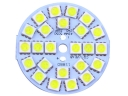 42mm 24*5050 SMD Warm White LED Car Signal Lights