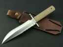 Ruthlessly by Series - Rattlesnake Military Survival Knife