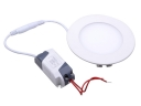 WUS-THD-XY-2835-30 6W Round High Power Super White LED Panel lights(White light)