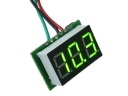 Measured 0-100V Electric Car Mobile Power Battery Charge Indicator Digital Voltmeter(Green/Bule Light colors)