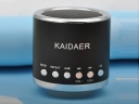 KAIDAER KD-MN02 Mini Speaker support Micro SD and Perfect for Most Electronic Devices Like MP3, MP4, Music Phones, IPod,