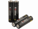 Soshine 10440 Li-ion  Battery Rechargeable 3.7V 350mAh Battery - 4-Pack