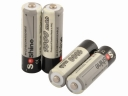 Wholesale 4pcs/lot Soshine 1000mAh AA 1.2V Ni-CD Rechargeable High Quality Battery with Battery Case