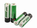 Soshine 2500mAh AA 1.2V Ni-Mh Rechargeable Battery with Battery Case (4-Unit)
