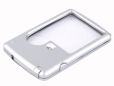 MG4B-3 3X 6X Daul Lens LED Illuminated Credit Card-Type Jewelry Magnifier