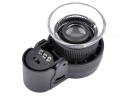 MG13102 LED-UV Focus-Adjusting 45x-21mm Jewelry Magnifier