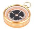 Portable Gold Color Pocket watch-Type Aluminum Alloy Creative Commpass