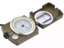 Portable Army Green Color Lensatic Compass prismatic Commpass with Bubble level