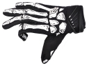 Fashion Black Color Skeleton Print M/L/XL Size Full-Finger Glove