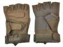 BLACKHAWK!Brown Color M/L/XL Size super Cool Half-Finger Sport Glove