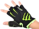 MONSTER Black Lylon Outdoor half-finger ridding /climbing ventilate sport gloves