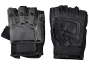 Black Color composite material Transformers Outdoor Half-finger safeguard sport gloves