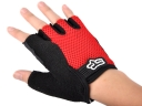 Black&Red Nylon Outdoor Half-finger Outdoor sport gloves