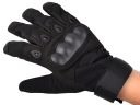 Black Outdoor Full-finger Outdoor sport gloves