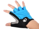 iQ PENUIZLMI Blue Black Color Outdoor Sport Half-finger gloves