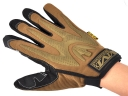 MECHANIXWEAR Brown Black Outdoor Sport Leather Full-finger gloves