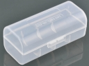 Plastic Translucent Battery Lithium  Holder(1*26650 )