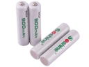 Soshine 900mAh AAA 1.2V Rechargeable Ni-MH Battery(4 PCS)