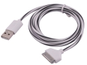 4G Candy Line 1M 3.5mm USB Charger Cable For iPhone4/iPhone4S/iPad Tablets